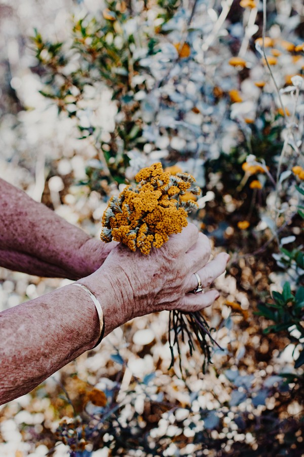 tache de vieillesse main